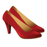 Classic woman shoes. Stock Image