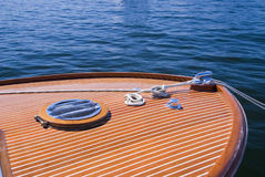Classic Wood Boat Stock Images