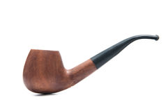 Classic wood pipe Stock Image