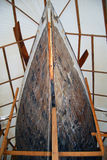 Classic Wood Sailboat Hull Royalty Free Stock Photos