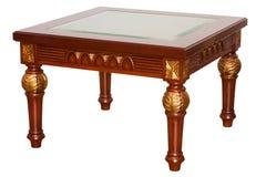 Classic wood table Stock Photos