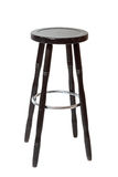 Classic wooden bar stools Stock Images