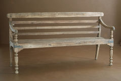 Classic wooden bench Royalty Free Stock Images