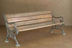 Classic wooden bench Royalty Free Stock Photos