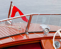 Classic vintage boat Stock Photo