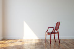 Classic Wooden Chair In Modern Style Interior Stock Photo