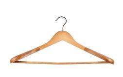 Classic wooden coat hanger Royalty Free Stock Photo