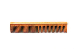 Classic wooden comb Royalty Free Stock Photos