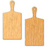 Classic Wooden Cutting or Chopping Board Stock Photography
