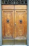 Classic wooden door Stock Photos