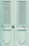 Classic wooden door Stock Photo