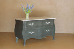 Classic wooden dresser royalty free stock image