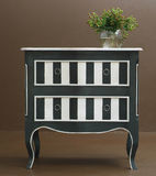 Classic wooden dresser royalty free stock photography