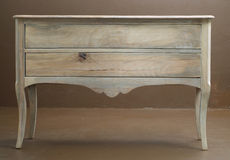 Classic wooden dresser. Hand crafted classic wooden dresser Stock Image
