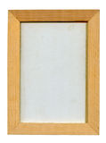 Classic wooden frame Stock Photos