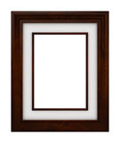 Classic wooden Frame Royalty Free Stock Photography