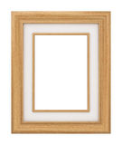 Classic wooden Frame Stock Image