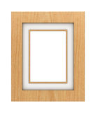 Classic wooden frame Stock Images