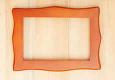 Classic wooden frame Royalty Free Stock Photos