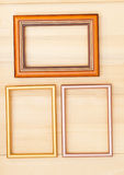 Classic wooden frame Royalty Free Stock Photo