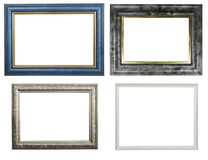 Classic wooden frames Royalty Free Stock Photography