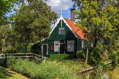 Classic wooden house Royalty Free Stock Photo