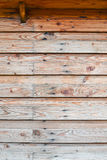 Classic wooden wall Stock Photography