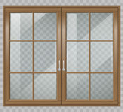 Classic wooden window Royalty Free Stock Photo