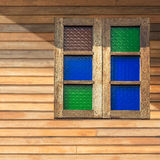 Classic wooden window Stock Images