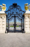 Classic wrought gate Royalty Free Stock Photo