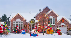 Classic Xmas Home Royalty Free Stock Image
