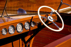 Classic Yacht Details Royalty Free Stock Images