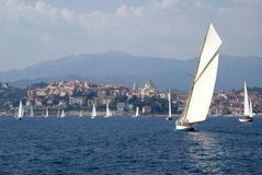 Classic yacht regatta Stock Photography