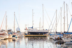 Classic Yacht Restoration Stock Images