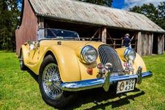 Free Classic Yellow Morgan Sports Car In Fagan Park, NSW, Australia Stock Image - 137946971