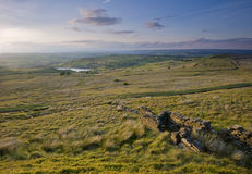 Classic yorkshire moorland view Stock Photo