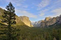 Classic Yosemite tunnel view Stock Image