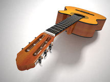 Classical acoustic guitar Royalty Free Stock Photography