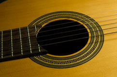 Classical acoustic guitar Royalty Free Stock Photo