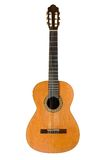 Classical acoustic guitar Royalty Free Stock Image