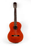 Classical acoustic guitar closeup Royalty Free Stock Photography