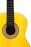 Classical Acoustic Guitar Stock Photo