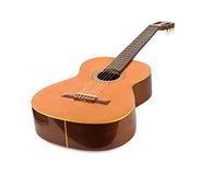 Classical acoustic guitar Stock Image
