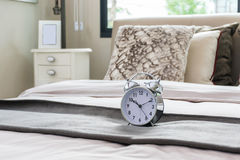 Classical alarm clock Stock Image