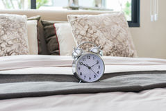 Classical alarm clock Royalty Free Stock Photos