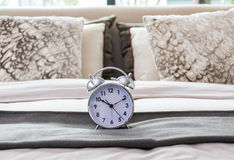Classical alarm clock Stock Photos