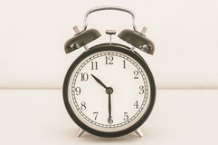 Classical alarm clock Royalty Free Stock Photo