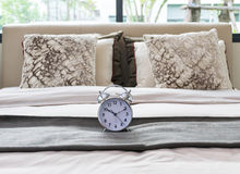 Classical alarm clock Royalty Free Stock Image