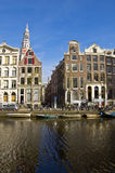 Classical Amsterdam view. Royalty Free Stock Photos