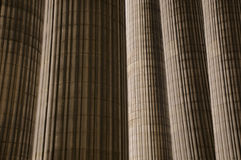 Classical antic architecture Stock Photography